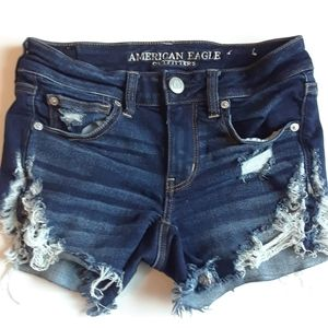 American Eagle outfitters women short jeans size 2
